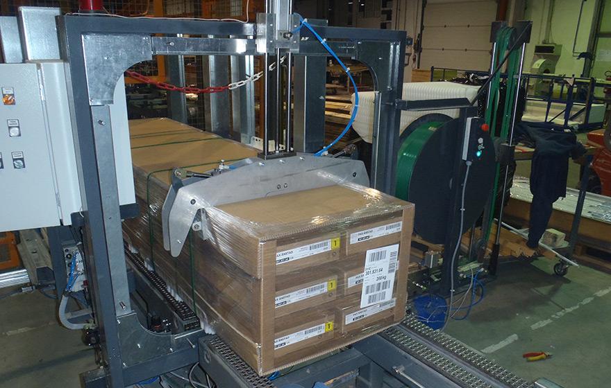 Stroj za pakiranje - Avtomatizacija - Robotehnika d.o.o. - Konstruiranje strojev in naprav