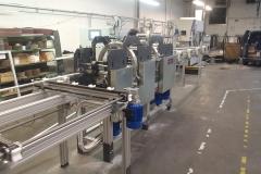 Stroj za foliranje profilov - Avtomatizacija - Robotehnika d.o.o. - Konstruiranje strojev in naprav